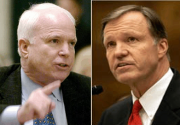 Presidential candidate John McCain would have SEC Chairman Cox fired.