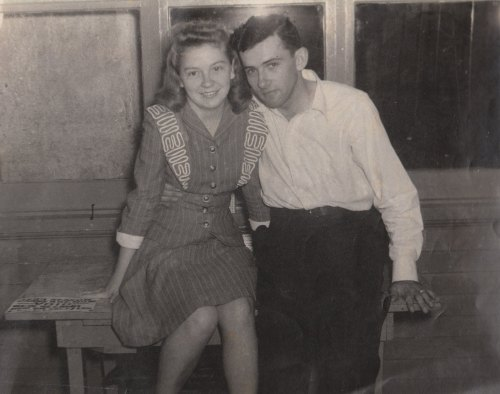 Bill and Grace shortly before they married.