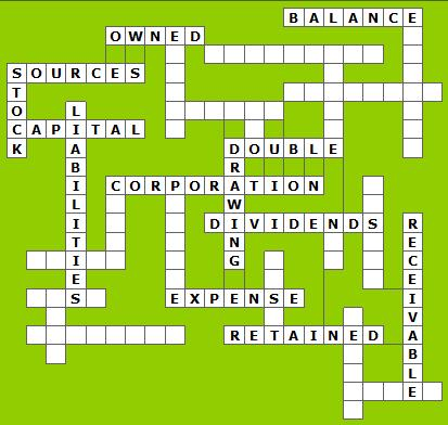personal statements crossword puzzle