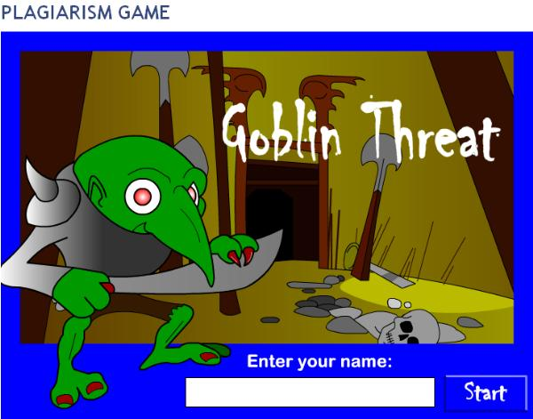 Find the goblins and answer each question correctly to understand how to do your papers right.